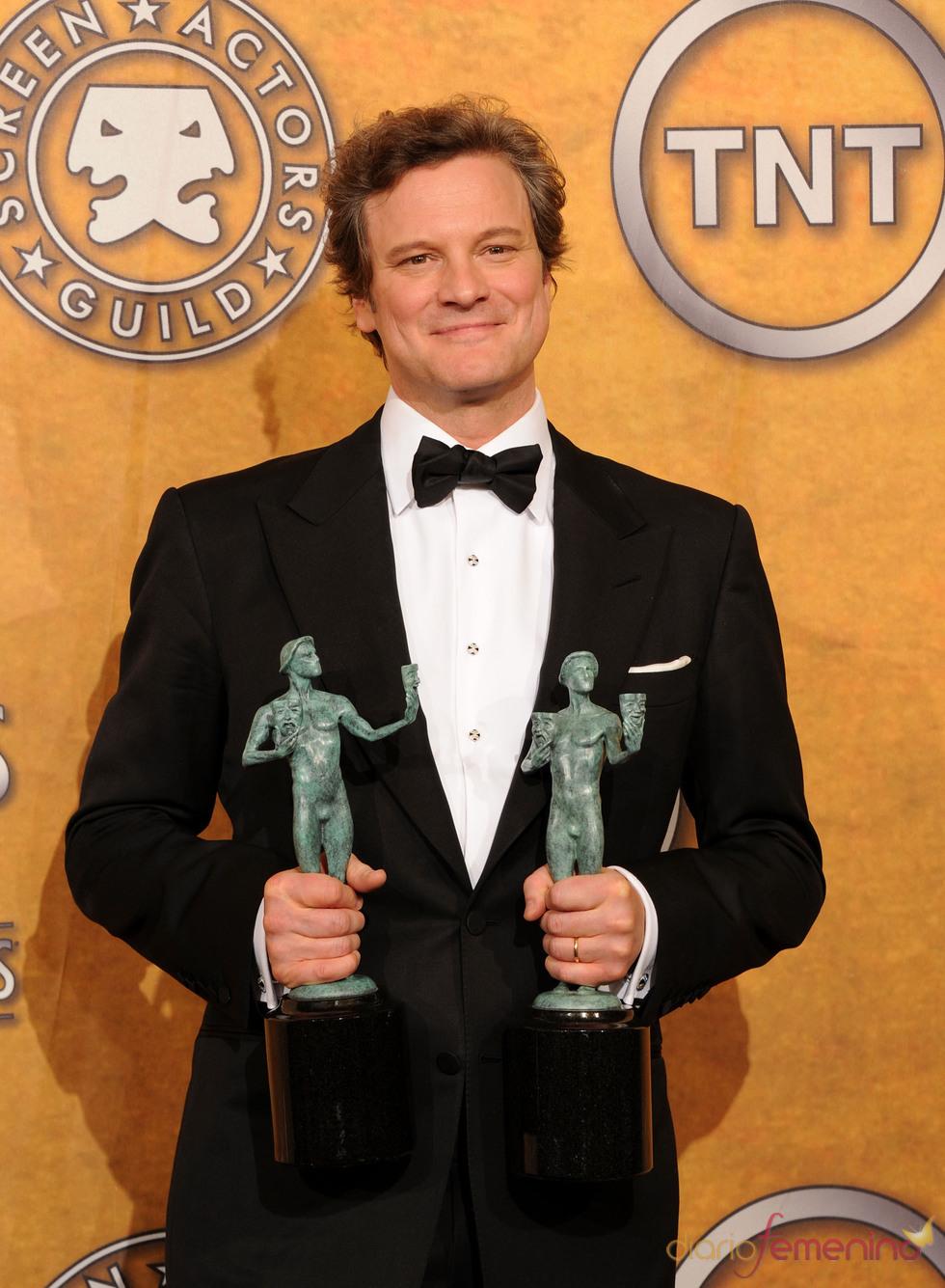Colin Firth, galardonado por el Sindicato de Actores de EEUU