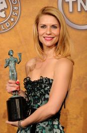 Claire Danes, galardonada por el Sindicato de Actores de EEUU