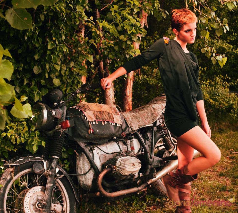 Emma Watson posa para la marca 'PeopleTree'