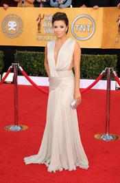 Eva Longoria en la alfombra roja de los premios del Sindicato de Actores