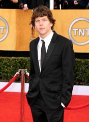 Jesse Eisemberg en los Premios del Sindicato de Actores