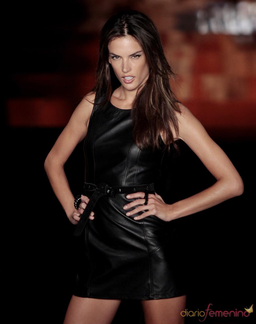 Alessandra Ambrosio en la Semana de la Moda de Sao Paulo