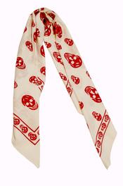 Idea para San Valentín, pañuelo calaveras de 'Belook'