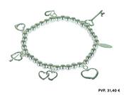 Idea para San Valentín, pulsera del 'Palacio de la PLata'