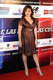 Carmen Machi en los premios del Círculo de Escritores Cinematográficos