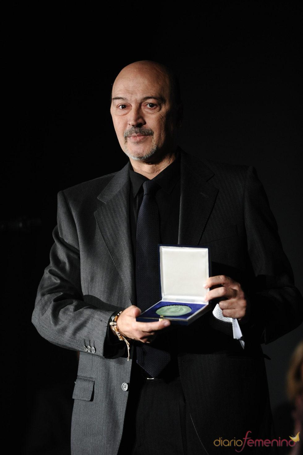 El hijo de Tony Leblanc, recibe un homenaje para su padre