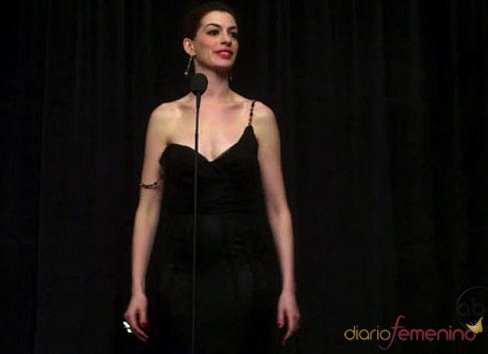 Anne Hathaway y James Franco calientan motores para los Oscar