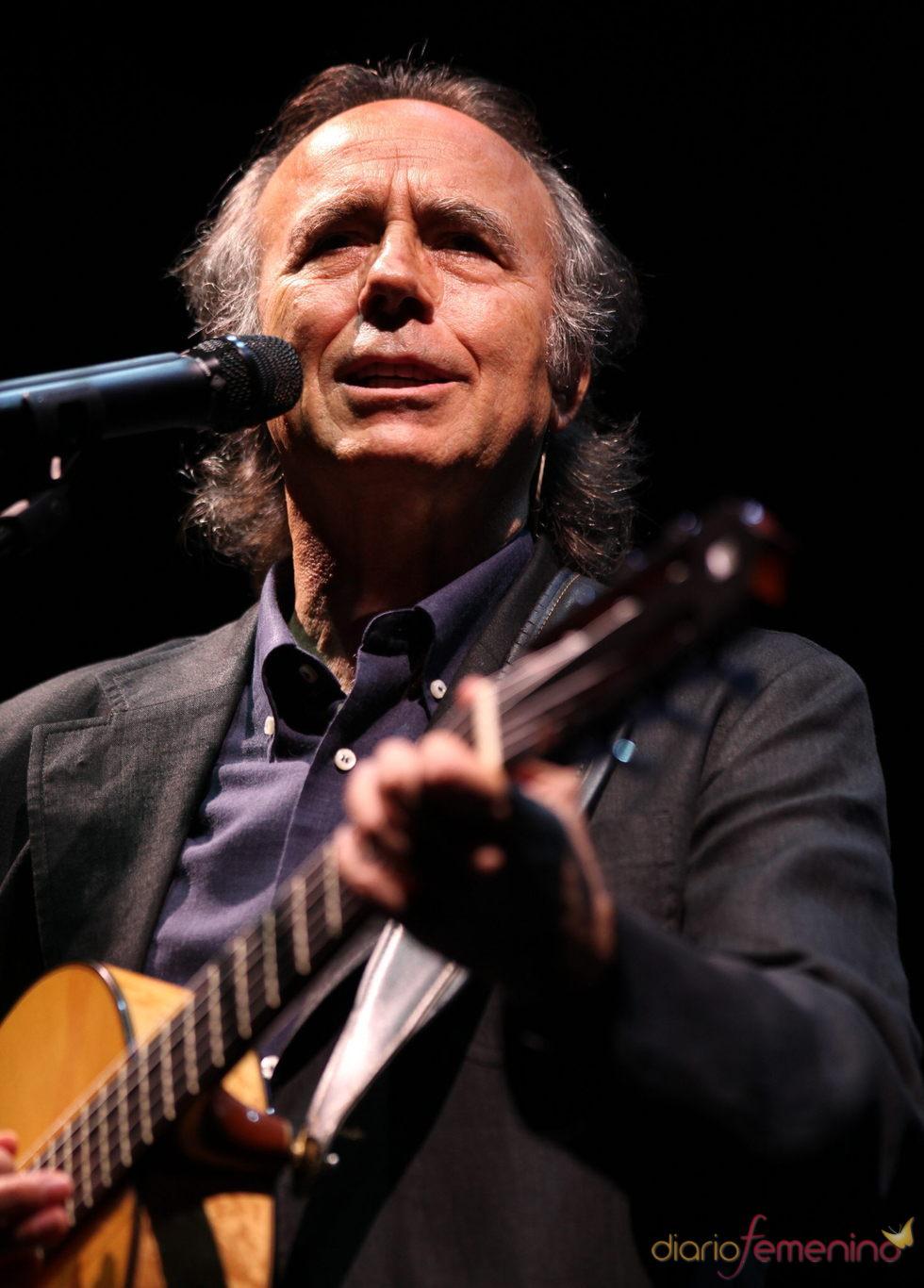 El cantante Joan Manuel Serrat