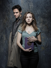 Manu Fullola y Aura Garrido en 'Ángel o demonio'