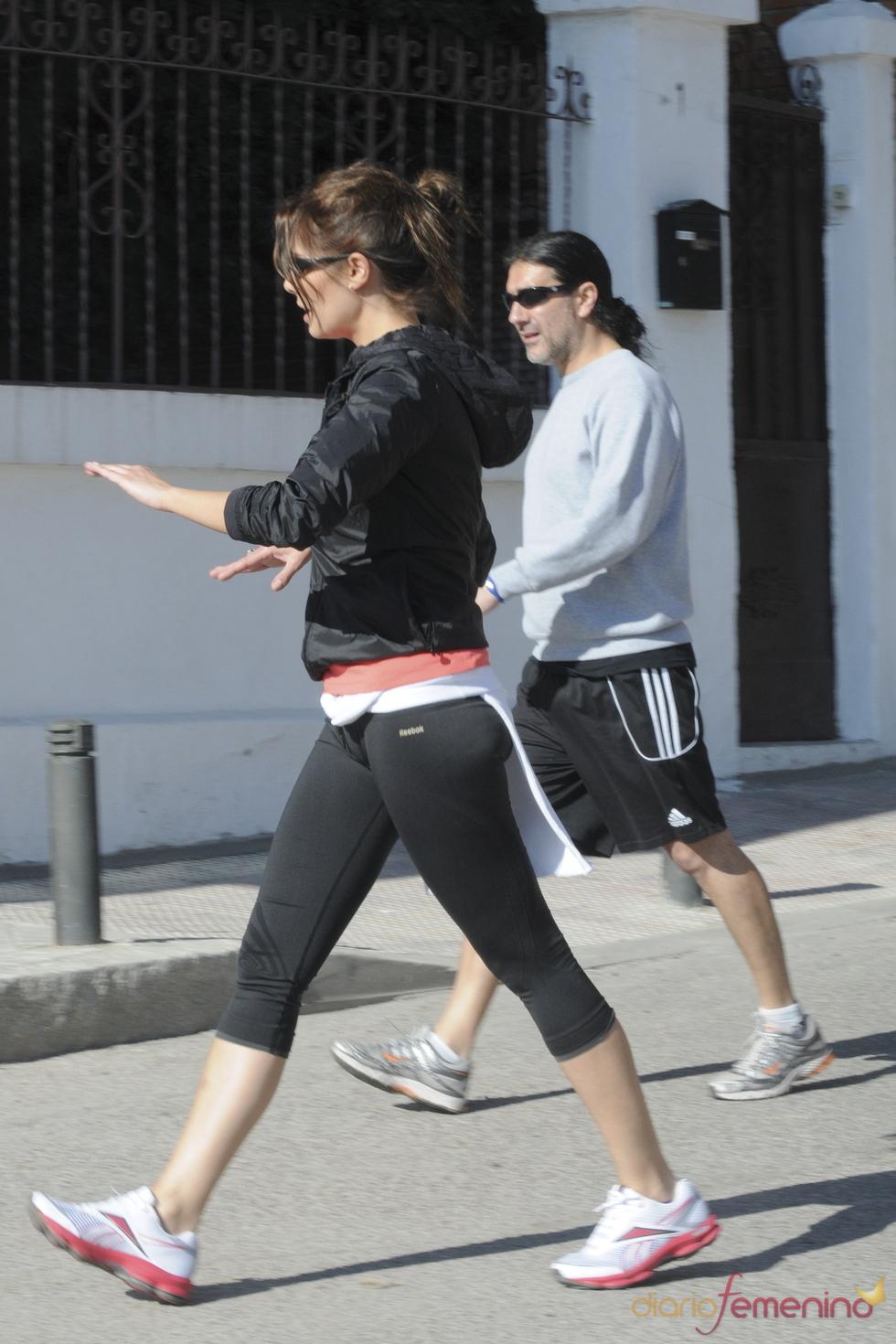 Pilar Rubio y su novio se ponen en forma