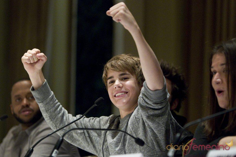 Justin Bieber, cantante e ídolo de masas