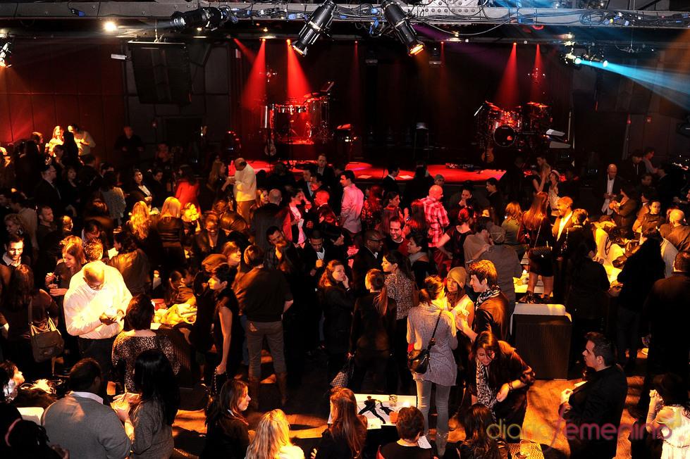 Sala del concierto de Ricky Martin en Nueva York