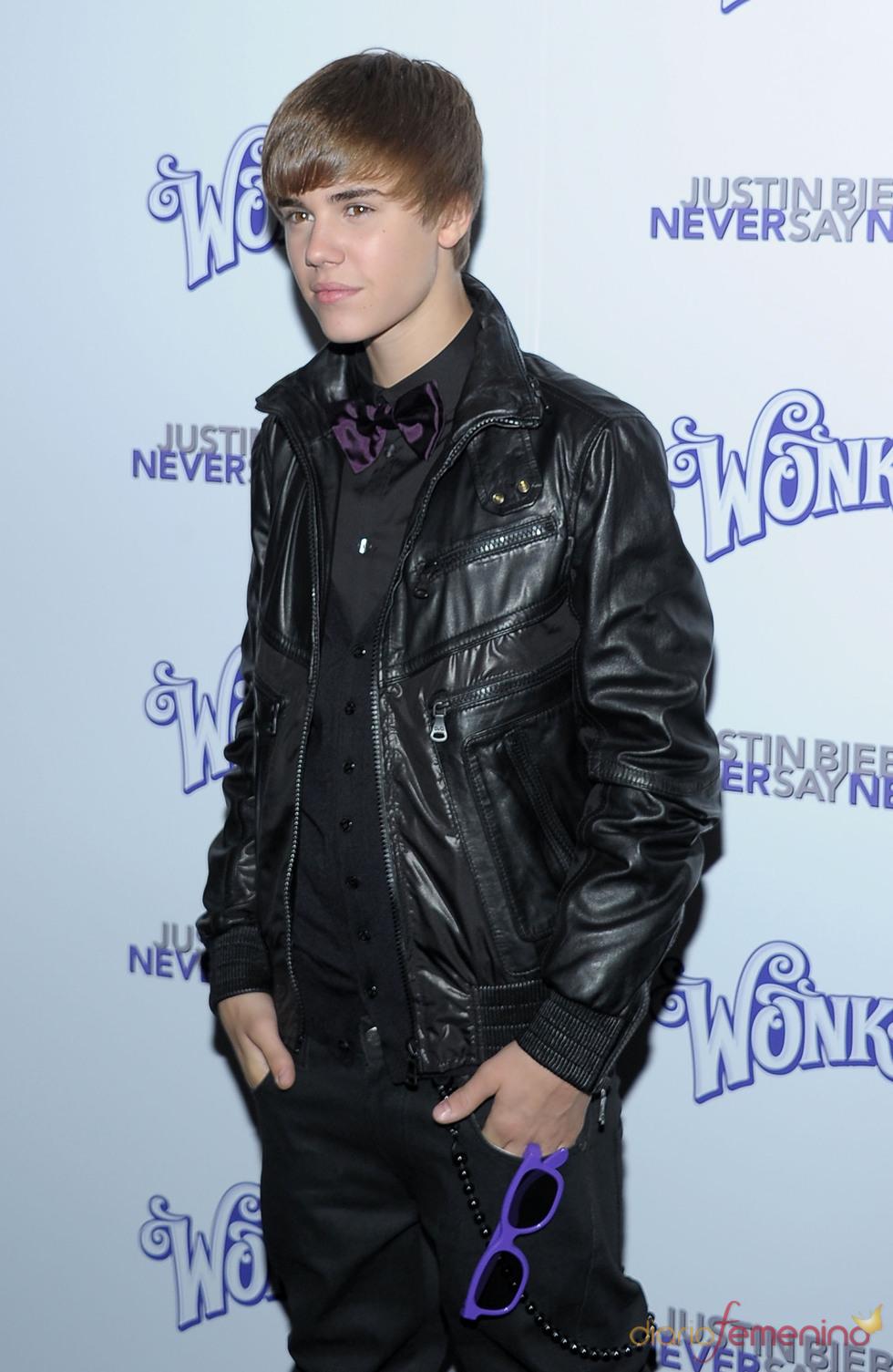 Justin Bieber presenta en Nueva York 'Never say never'