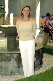 Eva Cobo, madre de Carlota Cantó Cobo