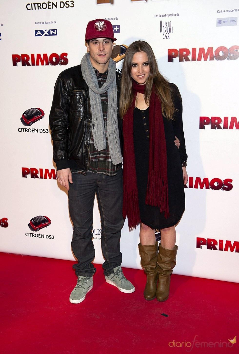 Los actores Luis y Ana Fernández