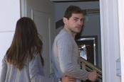 Iker Casillas con cara de pocos amigos