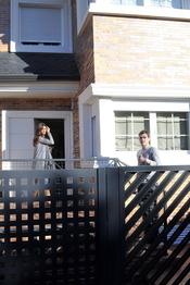Iker Casillas y Sara Carbonero en su casa de Boadilla del Monte