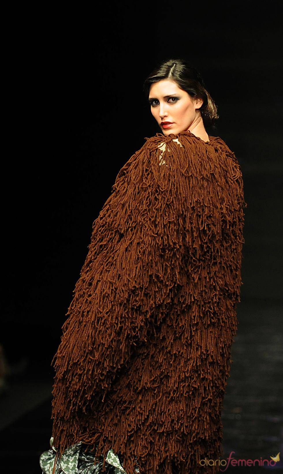 Modelo de la colección de Vicky Martín Berrocal