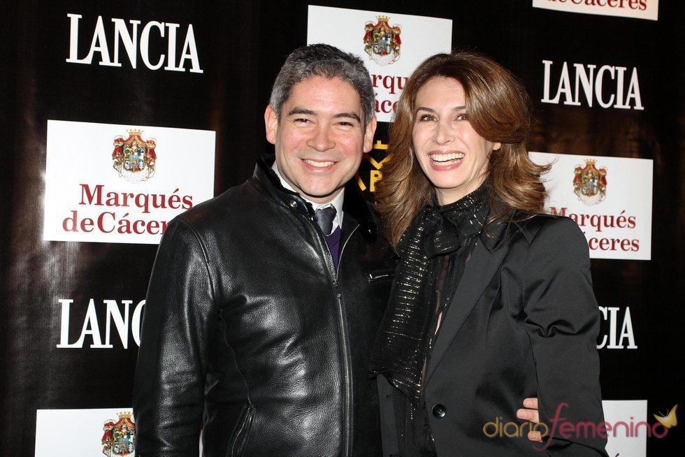 Ana García Siñeriz y Boris Izaguirre en el SIMOF 2011