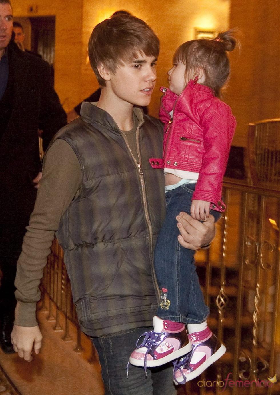 Justin Bieber y su hermana Jazzy