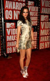 Leigthton Meester en los Video Music Awards 2009