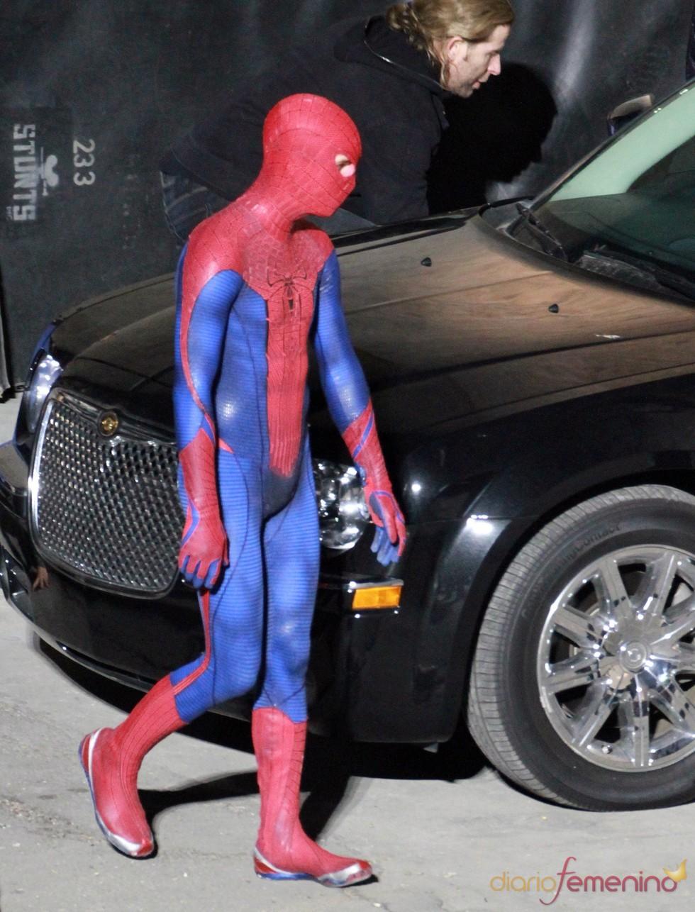 El Actor Andrew Garfield O Spiderman