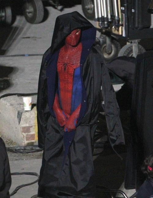 imagenes del nuevo traje de spider-man