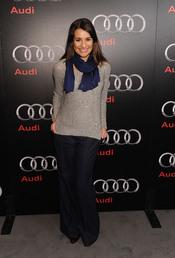 Lea Michele en una de las fiestas previas a la Super Bowl 2011