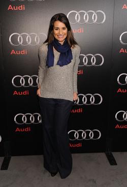 Lea Michele y su estilo de andar por casa