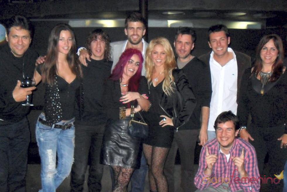 Shakira y Gerard Piqué celebran juntos su cumpleaños