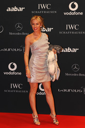 Annabelle Bond en la Laureus Welcome Party