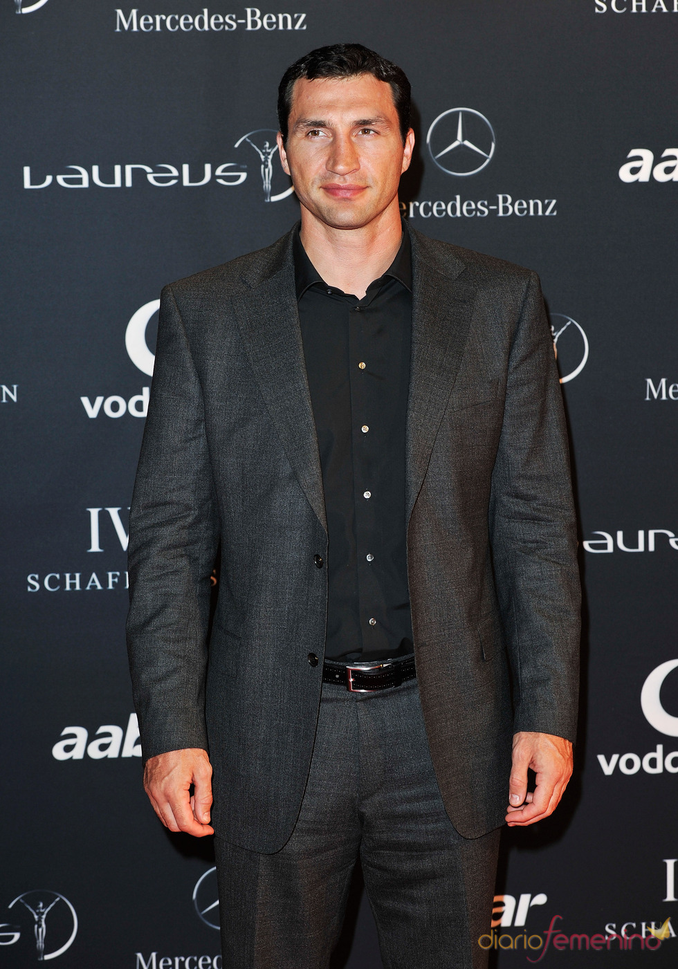 El boxeador Vladimir Klitschko en la Laureus Welcome Party