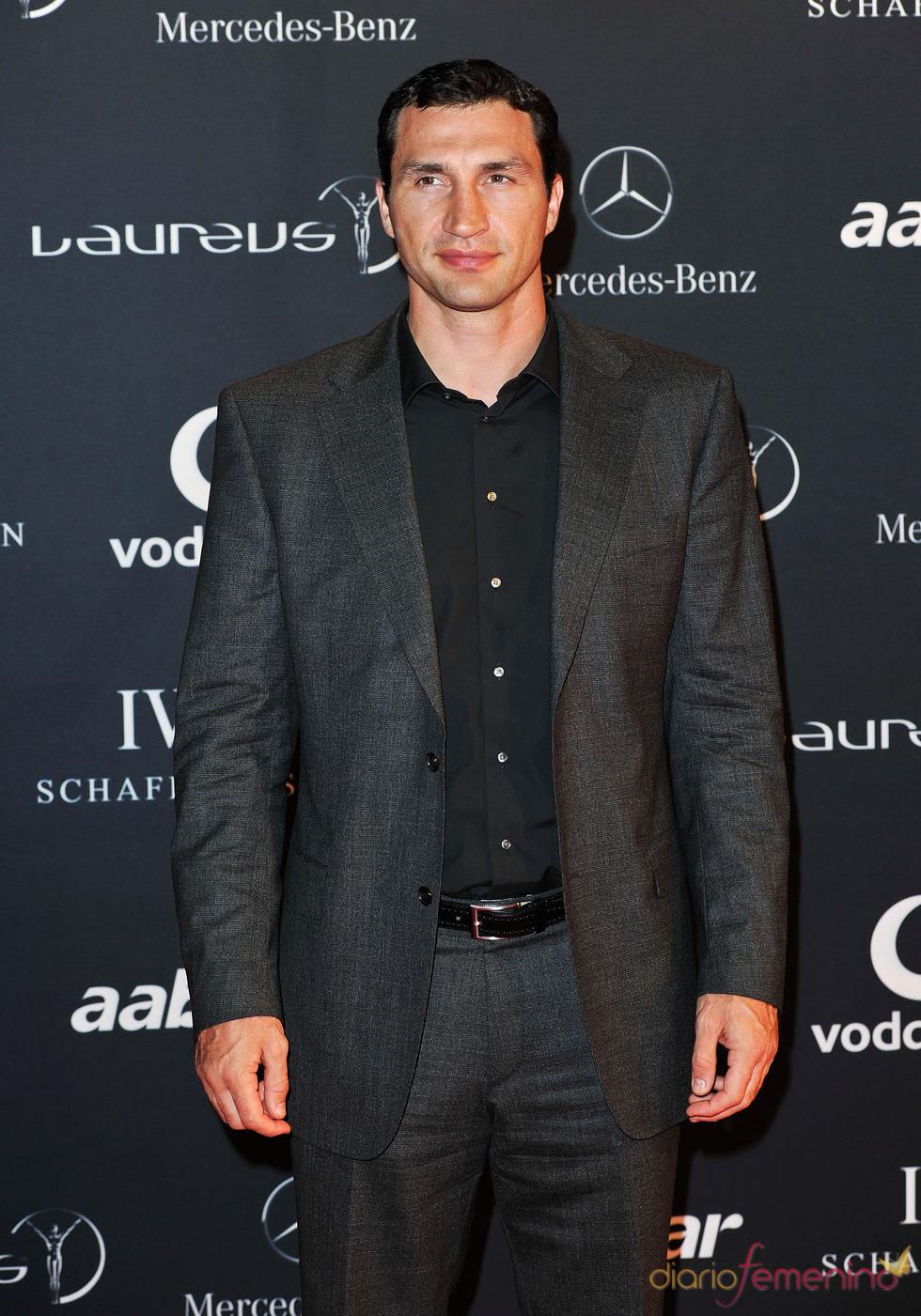El boxeador Vladimir Klitschko en la Laureus Welcome Party