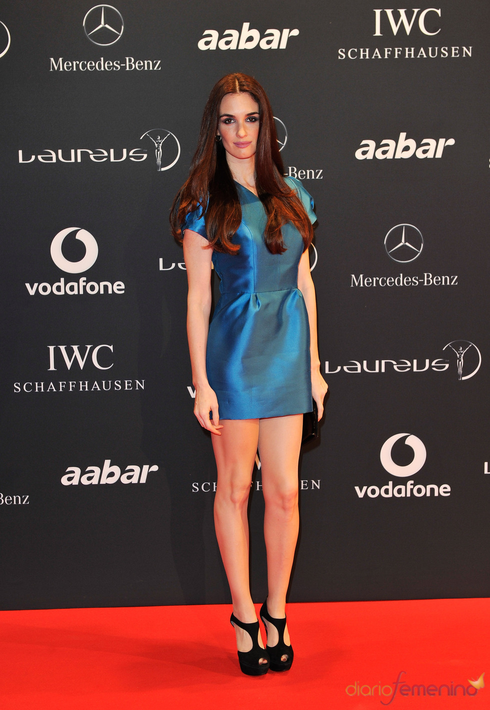 Paz Vega radiante en la Laureus Welcome Party