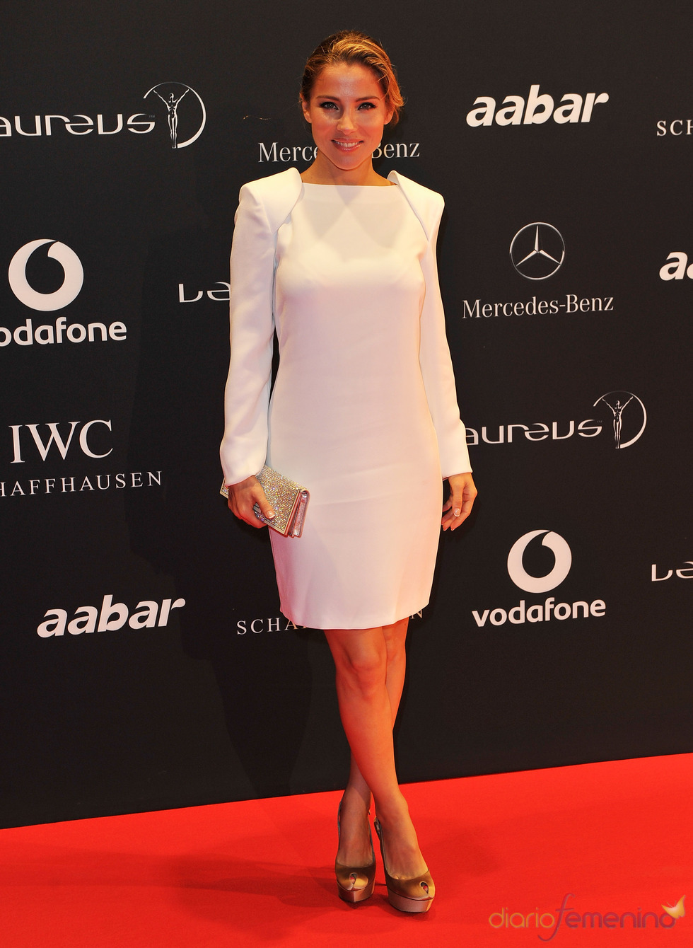 Elsa Pataky en la Laureus Welcome Party