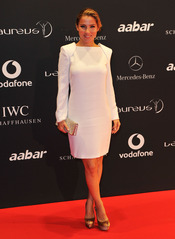 Elsa Pataky en la Laureus Welcome Party