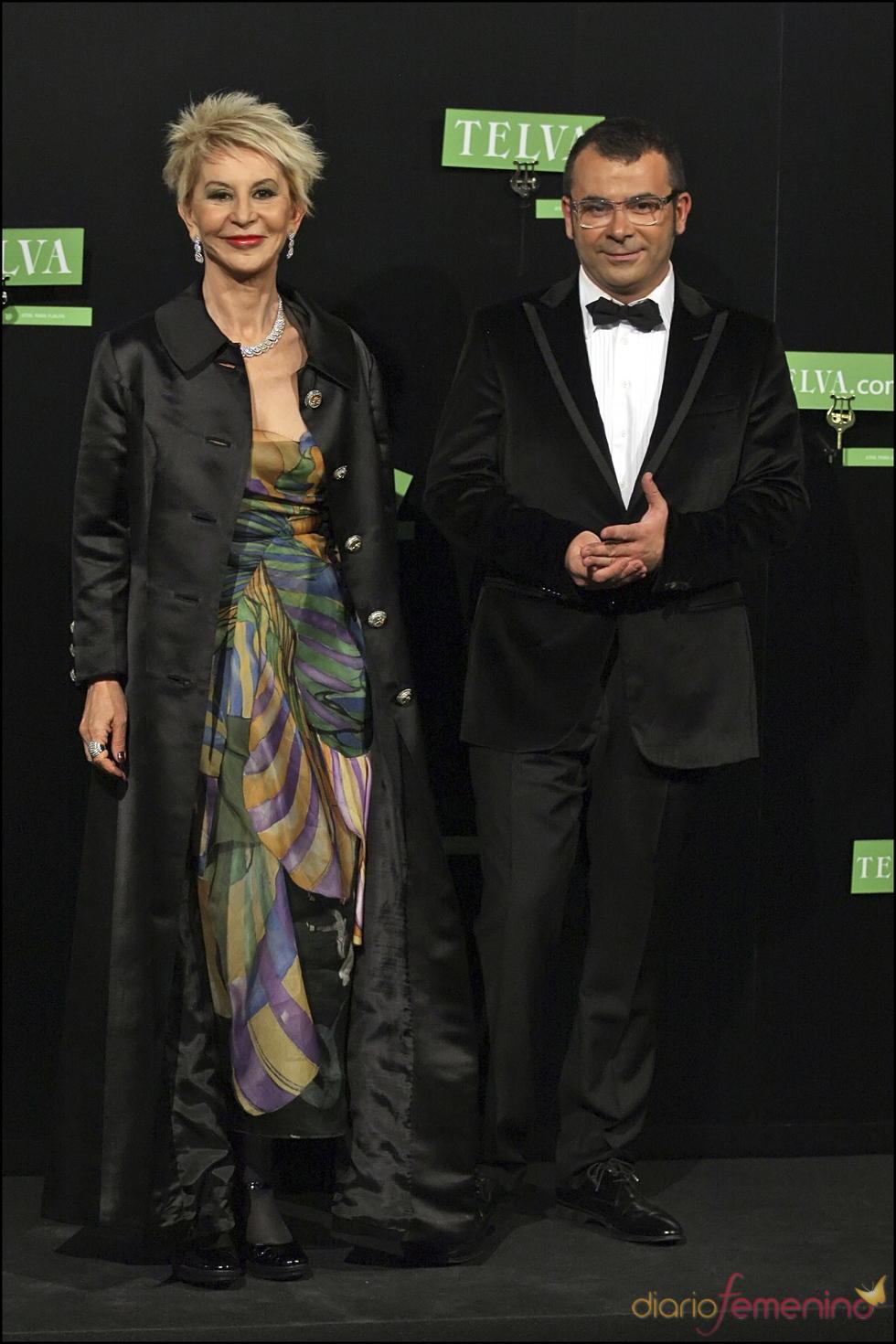 Karmele Marchante con Jorge Javier Vázquez