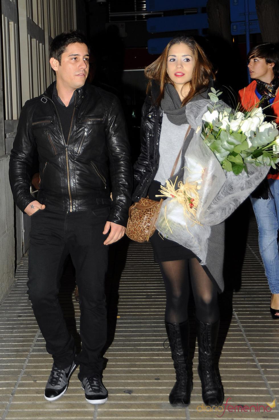 Elena Furiase y su novio, Leo Perrugorría