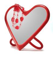 Espejo con forma de corazón de Ikea