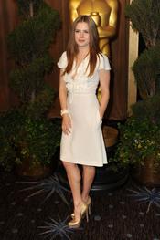 Amy Adams en el almuerzo de los nominados a los Oscar 2011