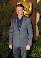 Jeremy Renner en el almuerzo de los nominados a los Oscar 2011