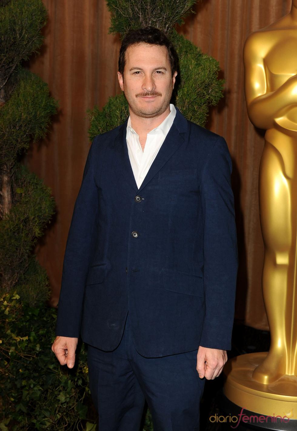 Darren Aronofsky en el almuerzo de los nominados a los Oscar 2011