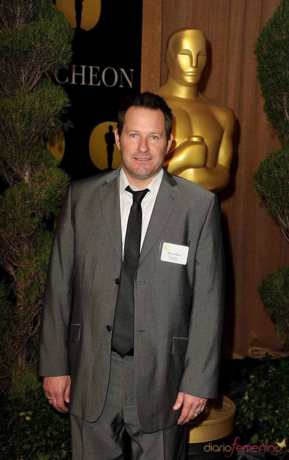 Brian Oliver en el almuerzo de los nominados a los Oscar 2011