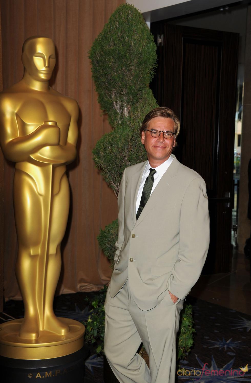 Christopher Nolan en el almuerzo de los nominados a los Oscar 2011