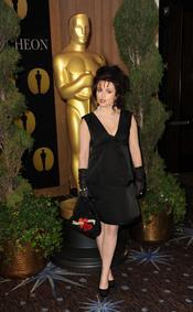 Helena Bonham Carter en el almuerzo de los nominados a los Oscar 2011