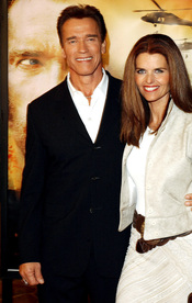 Maria Shriver, mujer del governador de California Arnold Schwarzeneger