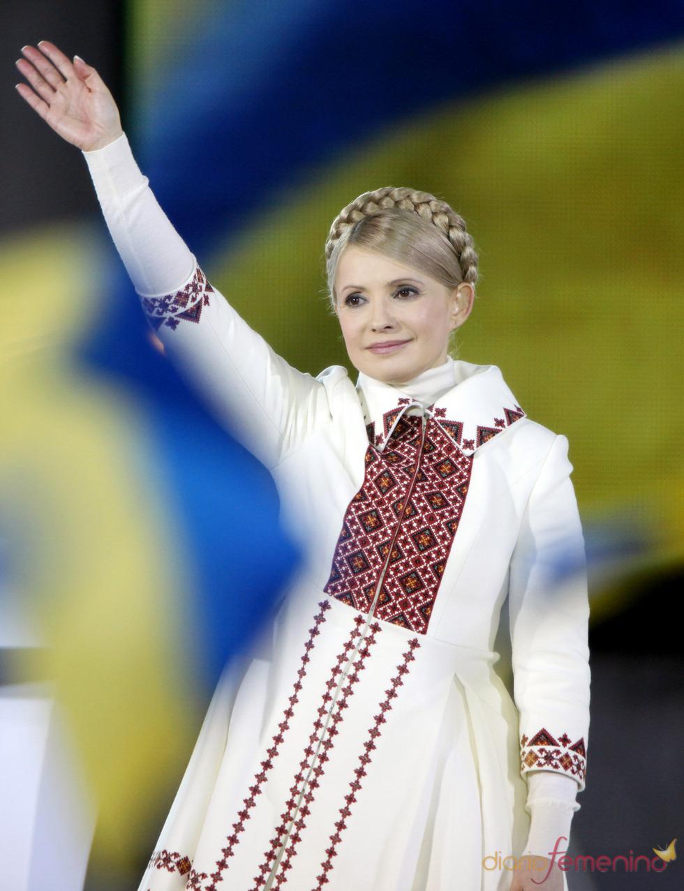 Yulia Tymoshenko primera dama ucraniana