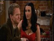 Katy Perry y Neil Patrick Harris en 'Cómo conocí a vuestra madre'