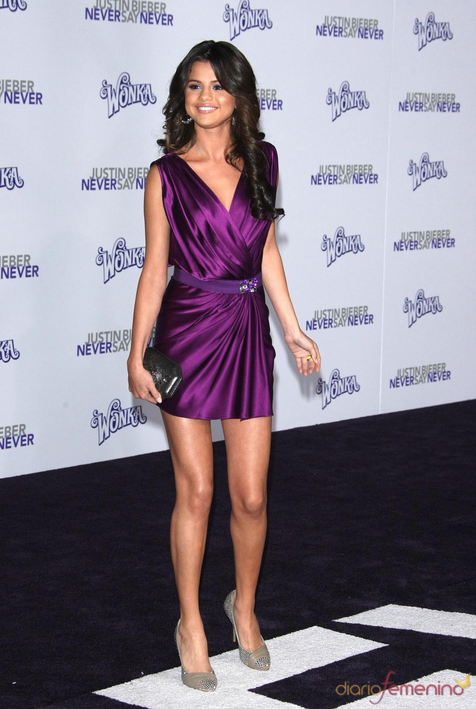 Selena Gómez no se pierde la premier de la película de Justin Bieber