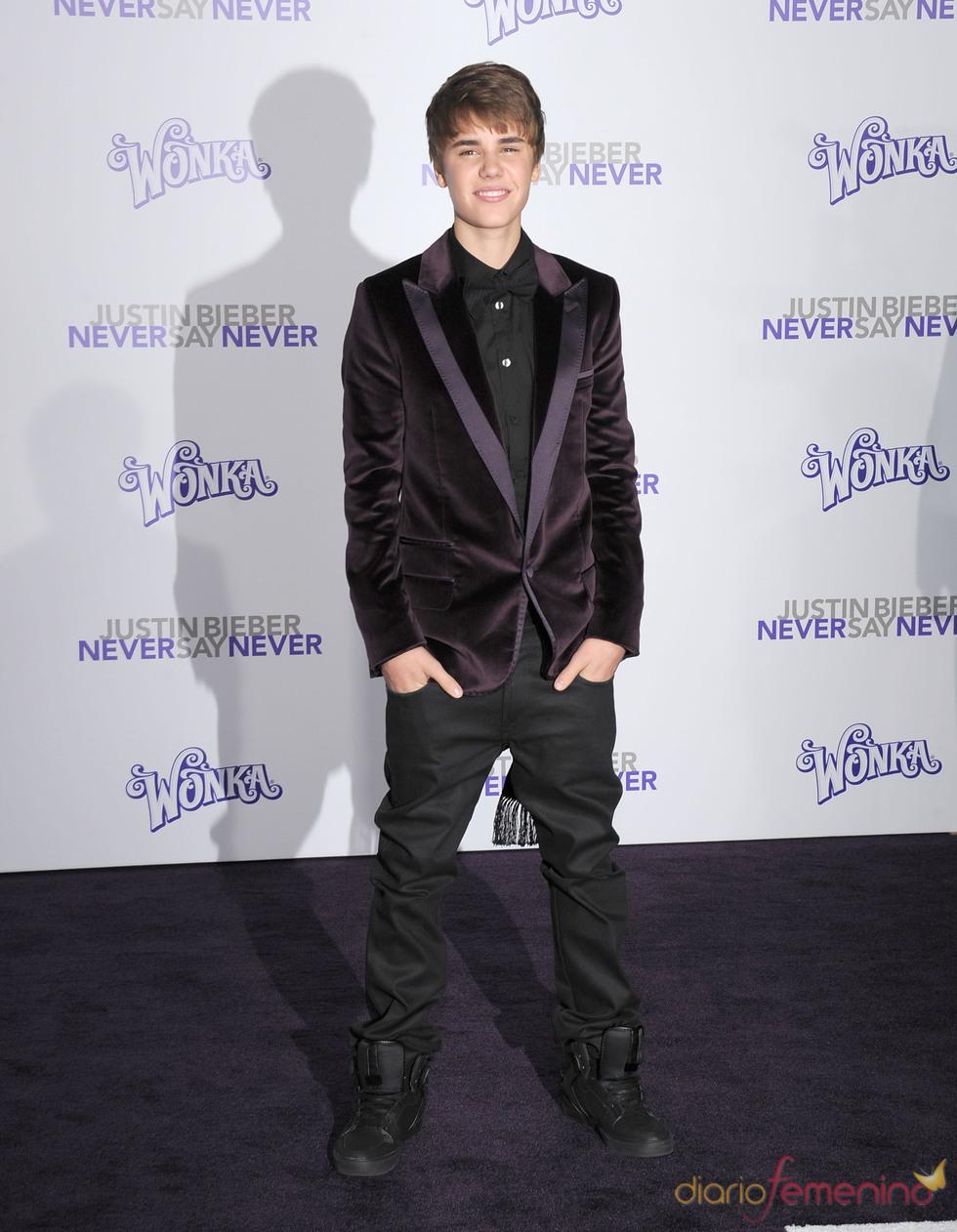 Justin Bieber nos presenta su película en Los Ángeles